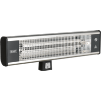 Sealey IWMH1809R Carbon Fibre Infrared Electric Wall Heater