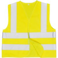 Portwest Junior Childrens Hi Vis Waistcoat Yellow L