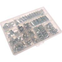 Jubilee 143 Piece Zinc Plated Hose Clip Assortment Set