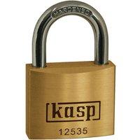 Kasp 125 Series Premium Brass Padlock 35mm Standard