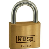 Kasp 125 Series Premium Brass Padlock Keyed Alike 40mm Standard 25401
