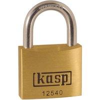 Kasp 125 Series Premium Brass Padlock Stainless Steel Shackle 40mm Standard