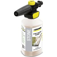 Karcher Plug n Clean Foam Nozzle with Stone Cleaner for K Series Pressure Washers 1l