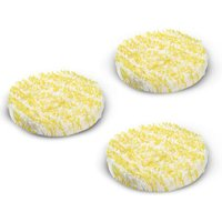 Karcher Special Polishing Pads for FP Floor Polishers for Stone / PVC / Linoleum Floors Pack of 3