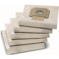 Karcher Paper Dust Bags for NT 48/1, 65/2 & 70/2 Vacuum Cleaners Pack of 5