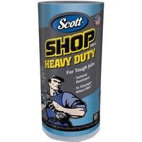 Kimberley Clarke Scott Blue Heavy-Duty WorkShop Cloth Roll