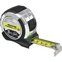 Komelon Powerblade Tape Measure Imperial & Metric 26ft / 8m 27mm