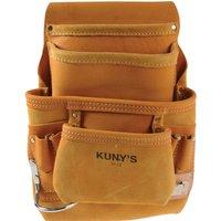 Kunys 10 Pocket Carpenters Nail and Tool Bag