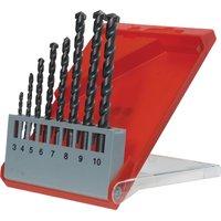 KWB 8 Piece Masonry Drill Bit Set
