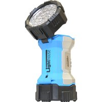 Lighthouse Bolt Rechargeable CREE LED Torch / Worklight Blue