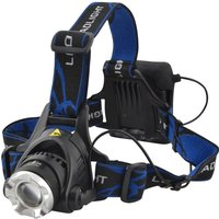 Lighthouse 3w CREE LED Zoom Head Torch Black
