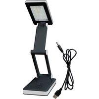 Lighthouse Foldable Desk Light 30 Smd Led 100 Lumens Black