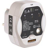 LaserLiner Socket Tester Plus Professional Wiring & RCD Tester