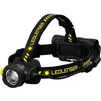 LED Lenser H15R WORK Rechargeable LED Head Torch Black and Yellow