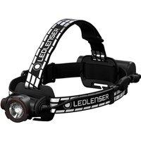 LED Lenser H7R Signature Rechargeable LED Head Torch Black / White
