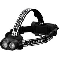 LED Lenser H19R Signature Rechargeable LED Head Torch Black / White