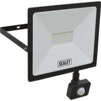Sealey Extra Slim PIR Sensor 50w LED Floodlight
