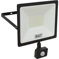 Sealey Extra Slim PIR Sensor 70w LED Floodlight