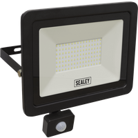 Sealey Extra Slim PIR Sensor 100w LED Floodlight