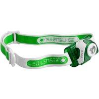 LED Lenser SEO3 Head Torch Green
