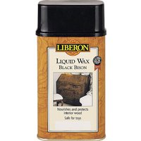 Liberon Black Bison Liquid Wax Medium Oak 500ml