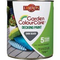Liberon Decking Paint Dark Silver 2.5l