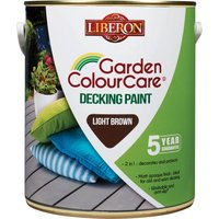 Liberon Decking Paint Light Brown 2.5l