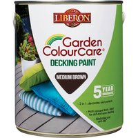 Liberon Decking Paint Mid Brown 2.5l