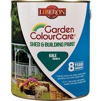 Liberon Shed & Building Exterior Paint Kale 2.5l