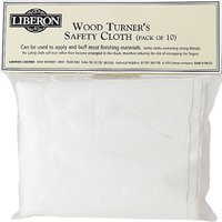 Liberon Woodturners Safety Cloth Pack of 3