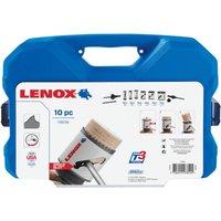 Lenox 10 Piece Plumbers Hole Saw Set