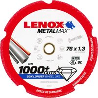 Lenox MetalMax Diamond Metal Cutting Disc 75mm