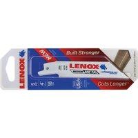 Lenox 18TPI Medium Metal Cutting Reciprocating Saw Blades 102mm Pack of 5