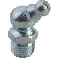 Lumatic 1/8 BSP Hydraulic Grease Nipple 45 Deg Angle