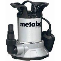 Metabo TPF6600SN Low Intake Stainless Steel Submersible Clean Water Pump 240v
