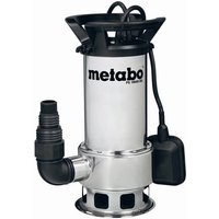 Metabo PS18000SN Stainless Steel Submersible Dirty Water Pump 240v
