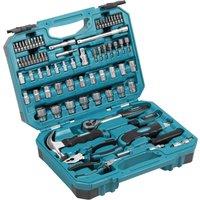 Makita 76 Piece Socket And Hand Tool Set