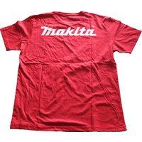 Makita Mens T Shirt Red L