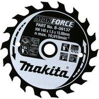 Makita MAKFORCE Wood Cutting Saw Blade 180mm 40T 30mm