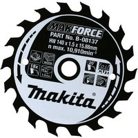 Makita MAKFORCE Wood Cutting Saw Blade 165mm 40T 30mm