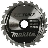Makita MAKFORCE Wood Cutting Saw Blade 190mm 24T 30mm