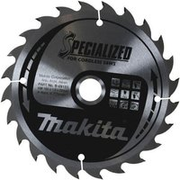 Makita SPECIALIZED Cordless Wood Cutting Saw Blade 165mm 24T 10mm