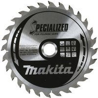 Makita SPECIALIZED Wood Cutting Saw Blade 160mm 48T 20mm