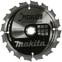 Makita SPECIALIZED Knot and Nail Cutting Saw Blade 185mm 40T 15 8mm