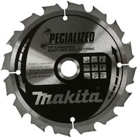 Makita SPECIALIZED Knot and Nail Cutting Saw Blade 270mm 60T 30mm