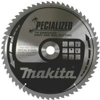 Makita SPECIALIZED Knot and Nail Cutting Saw Blade 355mm 60T 30mm