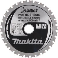Makita SPECIALIZED Construction Wood Cutting Saw Blade 190mm 12T 30mm