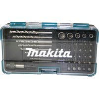 Makita 48 Piece Hss G Drill Bit and Socket Set