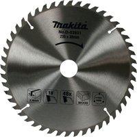 Makita Standard Wood Cutting Saw Blade 235mm 48T 30mm