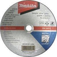 Makita Flat Metal Cutting Disc 230mm 3.2mm 22mm